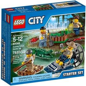 樂高積木LEGO《 LT60066 》2015 年 CITY 城市系列 - 沼澤警察入門套裝