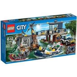 樂高積木LEGO《 LT60069 》2015 年 CITY 城市系列 - 沼澤警察局