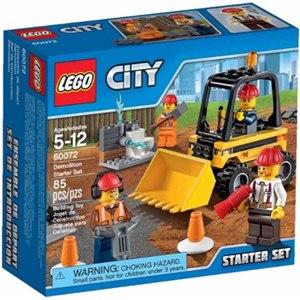 樂高積木LEGO《 LT60072 》2015 年 CITY 城市系列 - 拆除組入門套裝