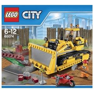樂高積木LEGO《 LT60074 》2015 年 CITY 城市系列 - 推土機