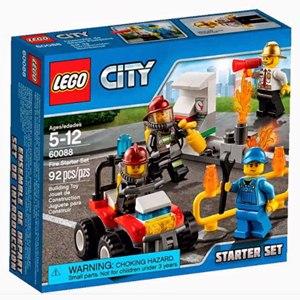 樂高積木LEGO《 LT60088 》2015 年 CITY 城市系列 - 消防系列入門套裝