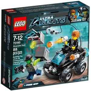 樂高積木LEGO《 LT70160 》2015 年 Agents 超級特務系列 - 河畔突襲