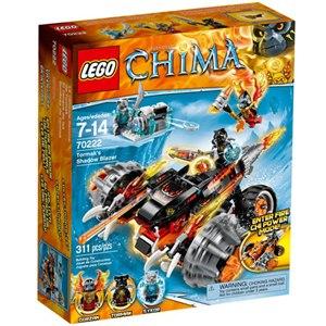樂高積木 LEGO《 LT70222》2015年 Chima 系列>虎參謀Tormak 的影子戰車