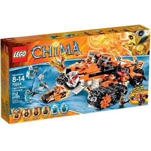 樂高積木 LEGO《 LT70224》2015年 Chima 系列>虎神部落機動指揮車
