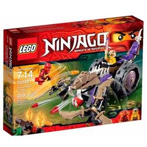 樂高積木LEGO《 LT70745 》2015 年Ninjago 旋風忍者系列 - 毒蛇鐮刀戰車