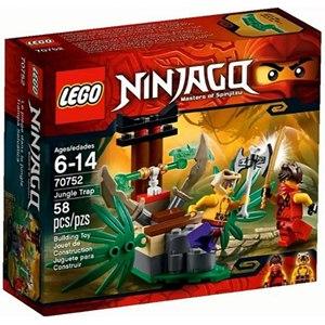 樂高積木LEGO《 LT70752 》2015 年Ninjago 旋風忍者系列 - 叢林陷阱