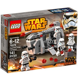 樂高積木LEGO《 LT75078 》2015 年 STAR WARS 星際大戰系列 - 帝國軍隊運輸