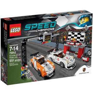 樂高積木 LEGO《 LT75912 》2015 年 SPEED CHAMPIONS 系列 - Porsche911 GT Finish Line