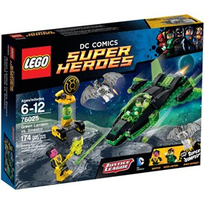 樂高積木LEGO《 LT76025 》2015 年 SUPER HEROES 超級英雄系列 - 綠光戰警vs.聖納托