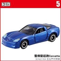 【 TOMICA 】TM005 CHEVROLET CORVETTE Z06