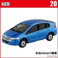 【 TOMICA 】TM020 本田INSIGHT轎車