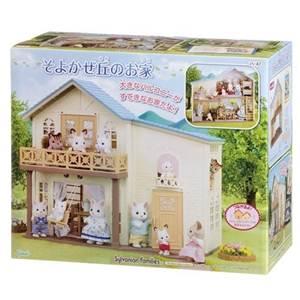 【 EPOCH 】森林家族-藍頂陽台房屋