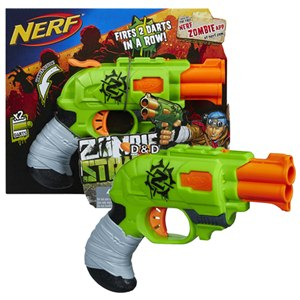 《 NERF 樂活打擊 》ELITE 系列 - 打擊者雙管衝鋒槍