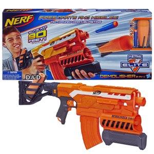 《 NERF 樂活打擊 》全自動二合一榴彈電動連發衝鋒槍