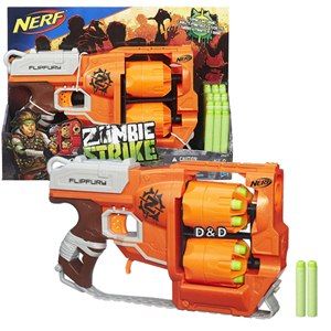 《 NERF 樂活打擊 》打擊者系列 - 雙重輪轉手槍