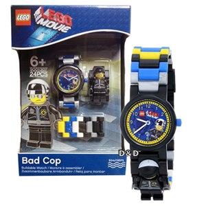 【 樂高積木 LEGO 】兒童手錶 - 樂高電影 壞警察