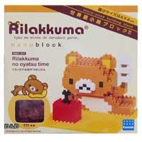《 Nano Block 迷你積木 》【 RILAKKUMA 拉拉熊系列 】NBH - 041 夏日拉拉熊