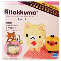 《 Nano Block 迷你積木 》【  拉拉熊系列 】NBH - 028 拉拉熊妹與小雞