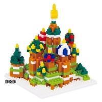 《Nano Block迷你積木》【 世界主題建築系列 】NBH - 051 聖巴索大教堂