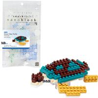 《 Nano Block 迷你積木 》【 海洋生物系列 】NBC - 081 綠蠵龜