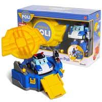 《 POLI 波力 》LED變形波力 - 手提基地