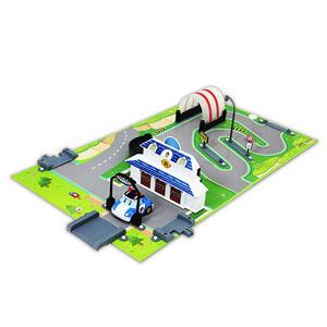 《 POLI 波力 》城市場景遊戲書系列 - 任務總部