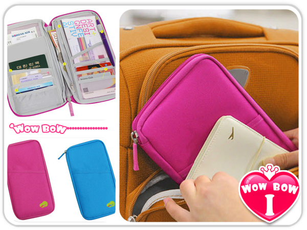 ♥愛挖寶♥【BG-13】出國旅遊必備 糖果色多功能護照包/機票護照夾/證件包證件夾/護照套