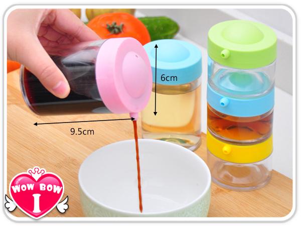 調味瓶♥愛挖寶 EAT-32♥糖果色油壺/可疊式調味罐/調味盒/調味瓶