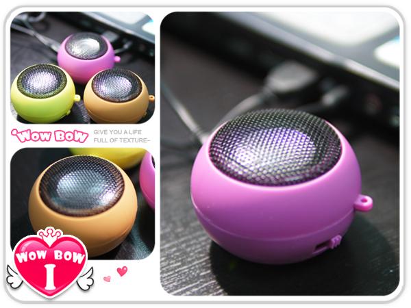 ♥愛挖寶♥【SPK-04】4色麵包造型充電式迷你隨身喇叭 USB充電喇叭