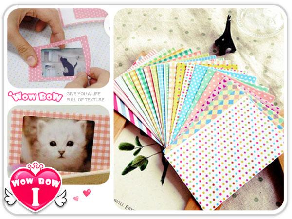 ♥愛挖寶♥【STT-20】POP color*拍立得相片框貼(粉彩款) / 相片裝飾貼
