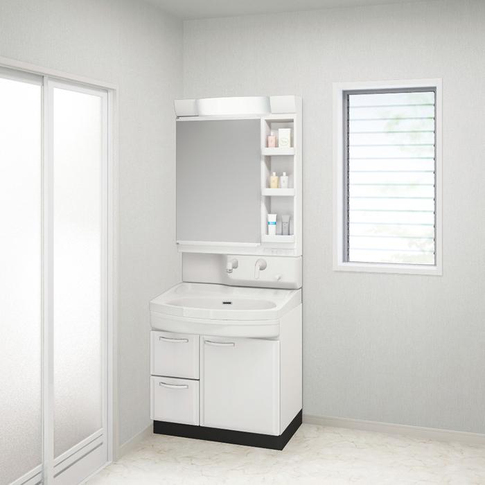 【現貨+預購】日本衛浴用水材-Takara Standard 琺瑯洗面化妝台【WSO75SW】白色