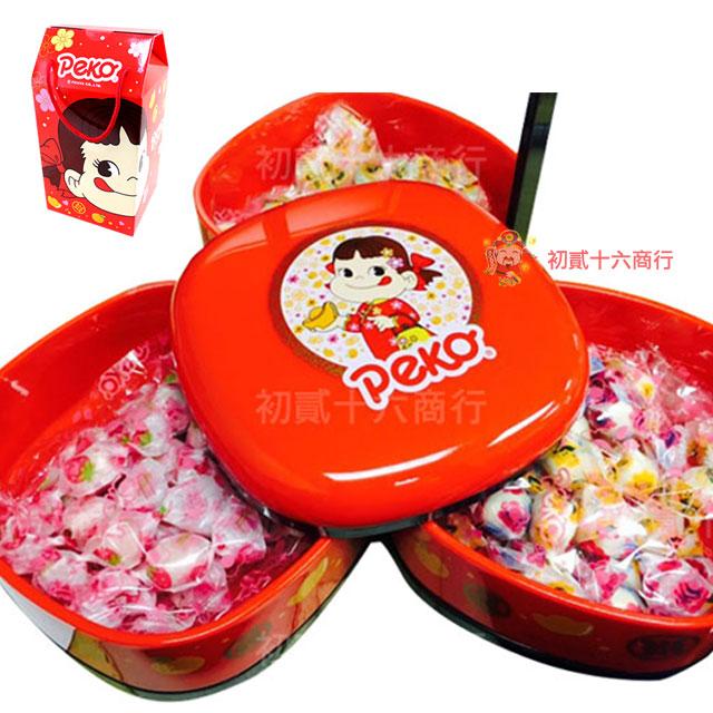 【0216零食會社】日本不二家-綜合牛奶糖提籃禮盒270g