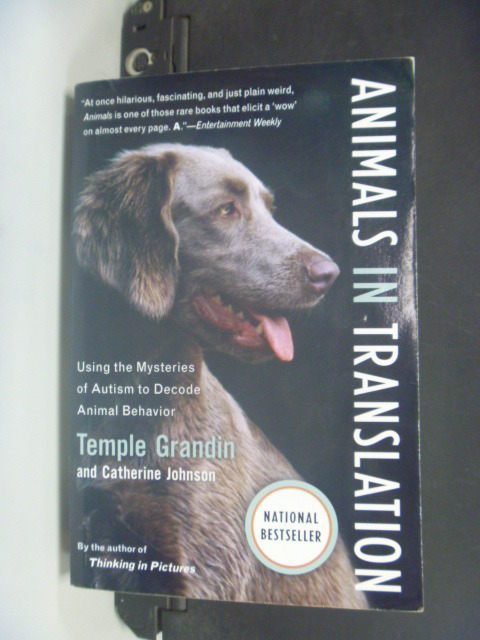 【書寶二手書T7/寵物_KLS】Animals In Translation_Grandin