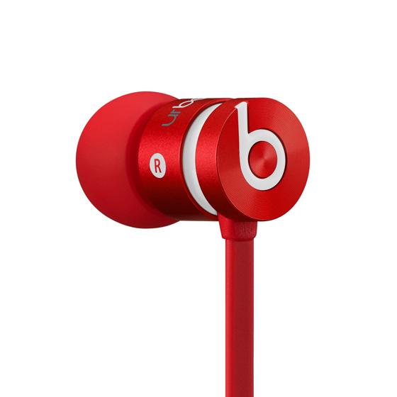 《育誠科技》『 Beats urBeats 紅色』耳塞式耳機/耳道式/Dolby音效/內置麥克風/堅固金屬外殼