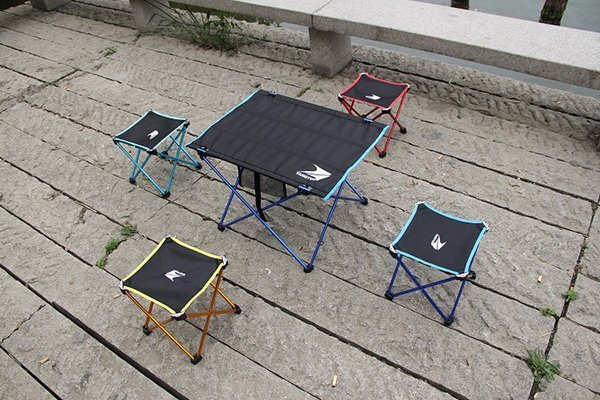 【悅.生活】Trackman_輕鋁合金折疊野餐桌椅