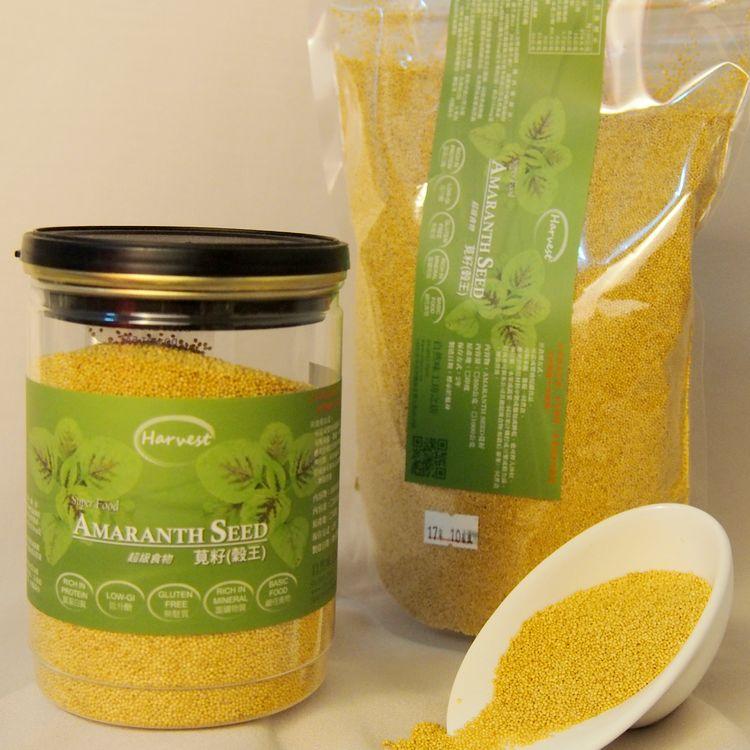 【Super Food】莧籽[穀王]無麩質、低GI、高礦物質、高蛋白、鹼性食物。