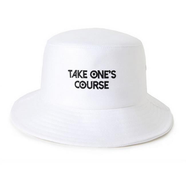 50%OFF【E07836FH】韓國刺繡字母盆帽男女韓版折疊漁夫帽防曬遮陽帽子