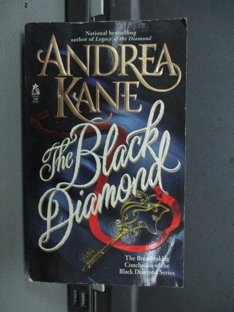 【書寶二手書T1/原文小說_MRY】The Black Diamobd_Andera Kate