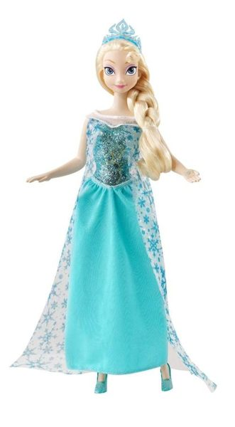日本直送 Disney 迪士尼 Frozen 冰雪奇緣 Elsa 艾莎女王 發光人形娃娃