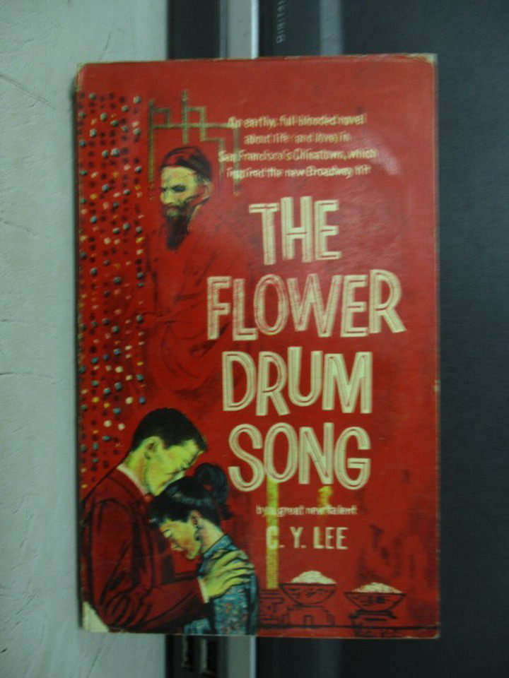 【書寶二手書T3/原文小說_LBT】The flower drum song_C.Y.Lee