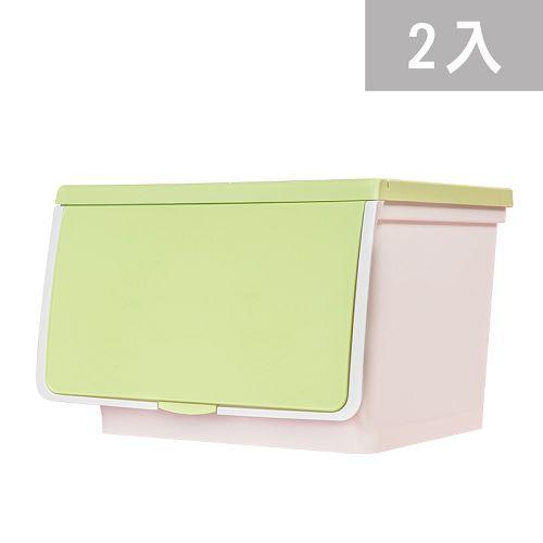 大象平方-繽紛系列直取式收納箱-CM3-009二入(38L)