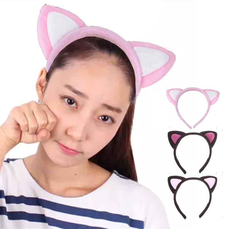 代購現貨 韓國時尚貓耳朵髮箍 IF0228