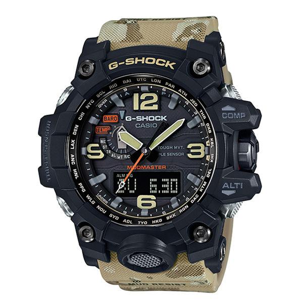 CASIO G-SHOCK GWG-1000DC-1A5迷彩陸海空防泥概念電波腕錶/56.1mm