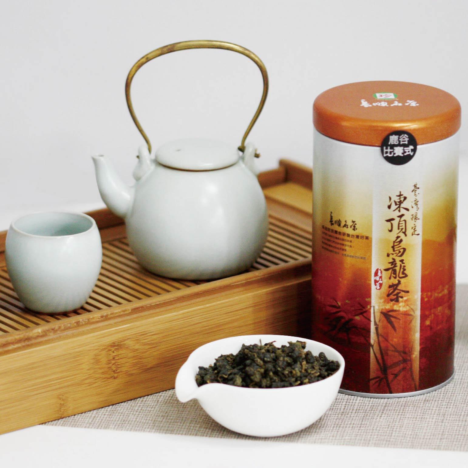 鹿谷比賽式 凍頂烏龍茶 滋味溫潤且甘