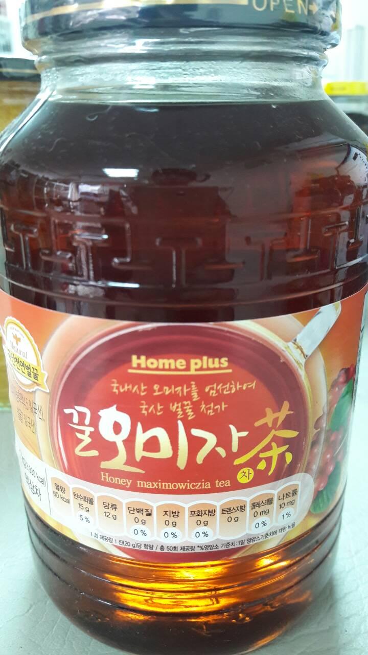 【韓新館】 꽃샘HOME PLUS 花泉 蜂蜜五味子茶(缺貨中)