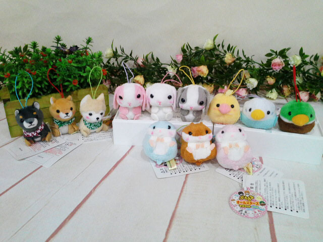 ~*My 71*~   絨毛娃娃 5cm商品大集合 動物系列 玩偶 吊飾 小狗 小鳥 兔子 松鼠 兒童 玩具 禮物