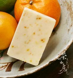 《茶山房》天然手工肥皂- 清新柑橘皂 Fresh Citrus Soap•『會浮水的有氧活皂』