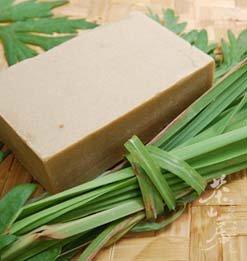 《茶山房》天然手工肥皂- 艾草香茅皂 Mugwort & Citronella Soap•『會浮水的有氧活皂』
