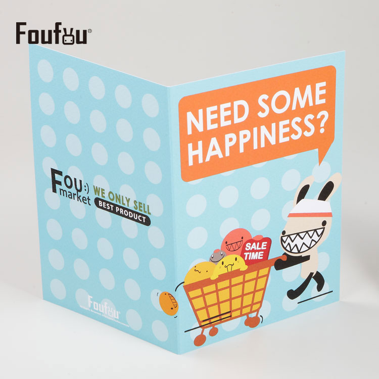 《Foufou》萬用卡片Card-需要一點快樂嗎?Need some happiness?