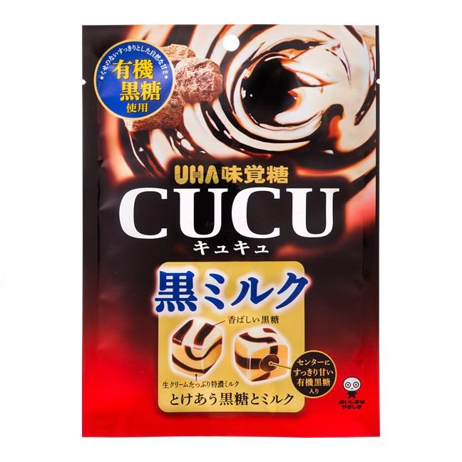 日本糖果 UHA味覺糖 黑糖牛奶糖